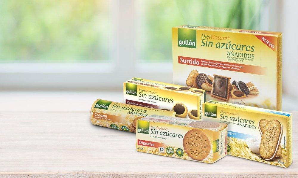 Descubre la gama Gullón Diet Nature, galletas sin azúcares