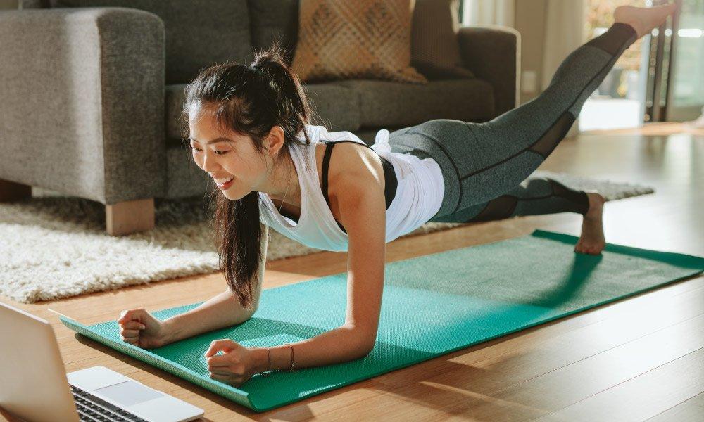 Entrenamiento para hacer en casa 💪 | Galletas Gullón