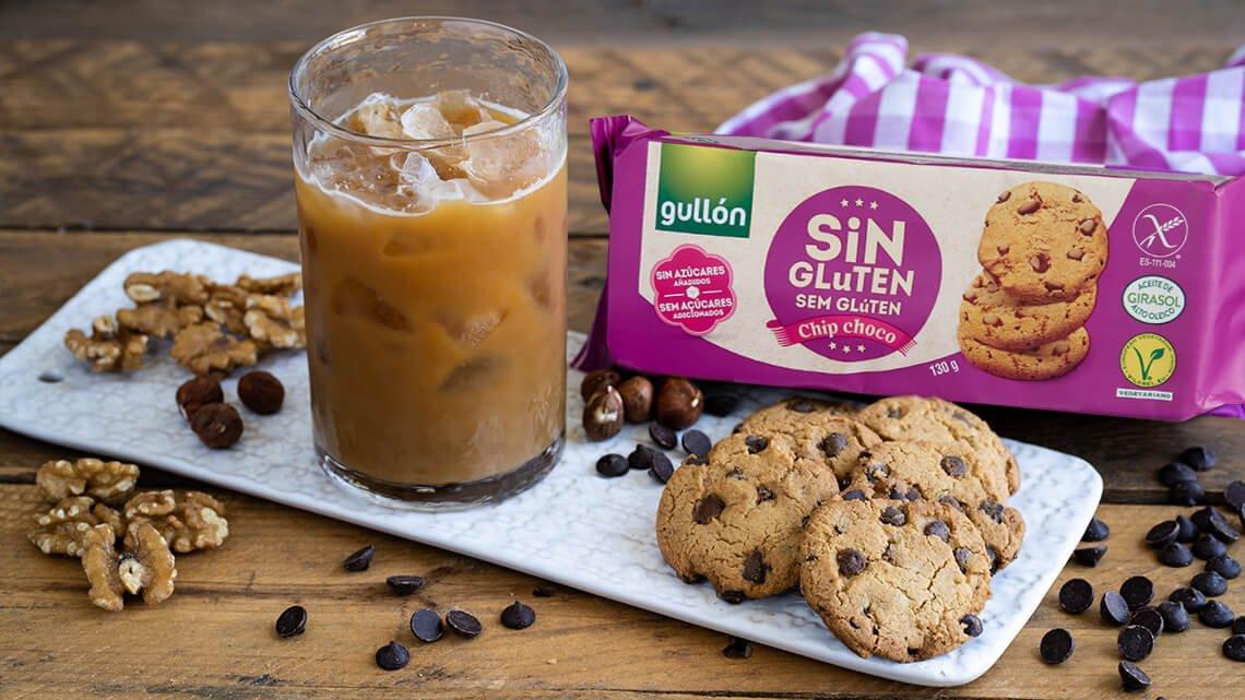 Chip choco sin azúcares añadidos Sin Gluten galletas gullon