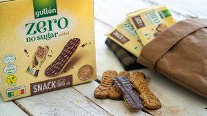 Snack black choco ZERO biscuits Gullón