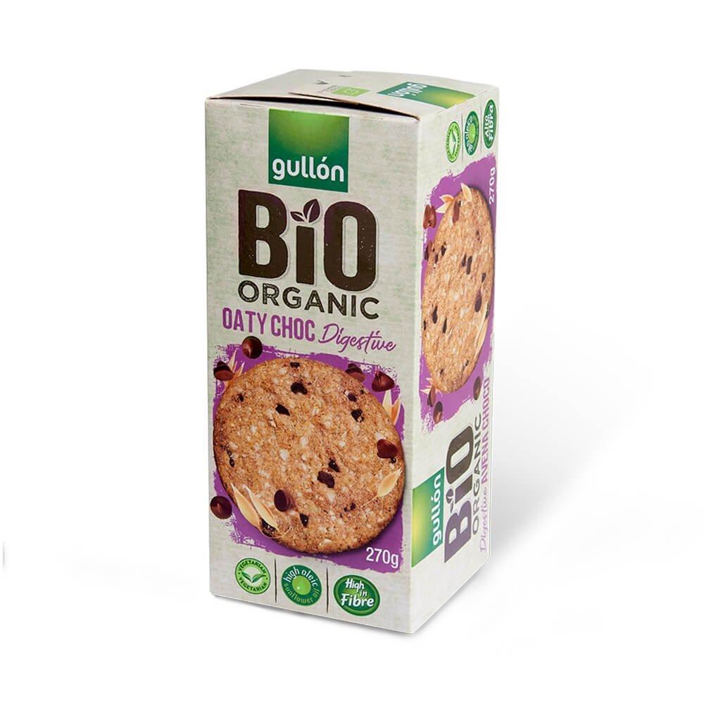 Bio Organic oaty choc Digestive Gullón