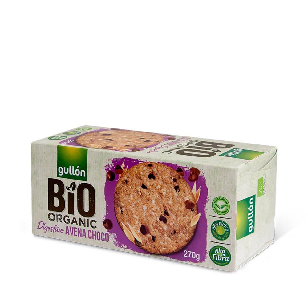 Bio Organic Digestive avena choco Gullón