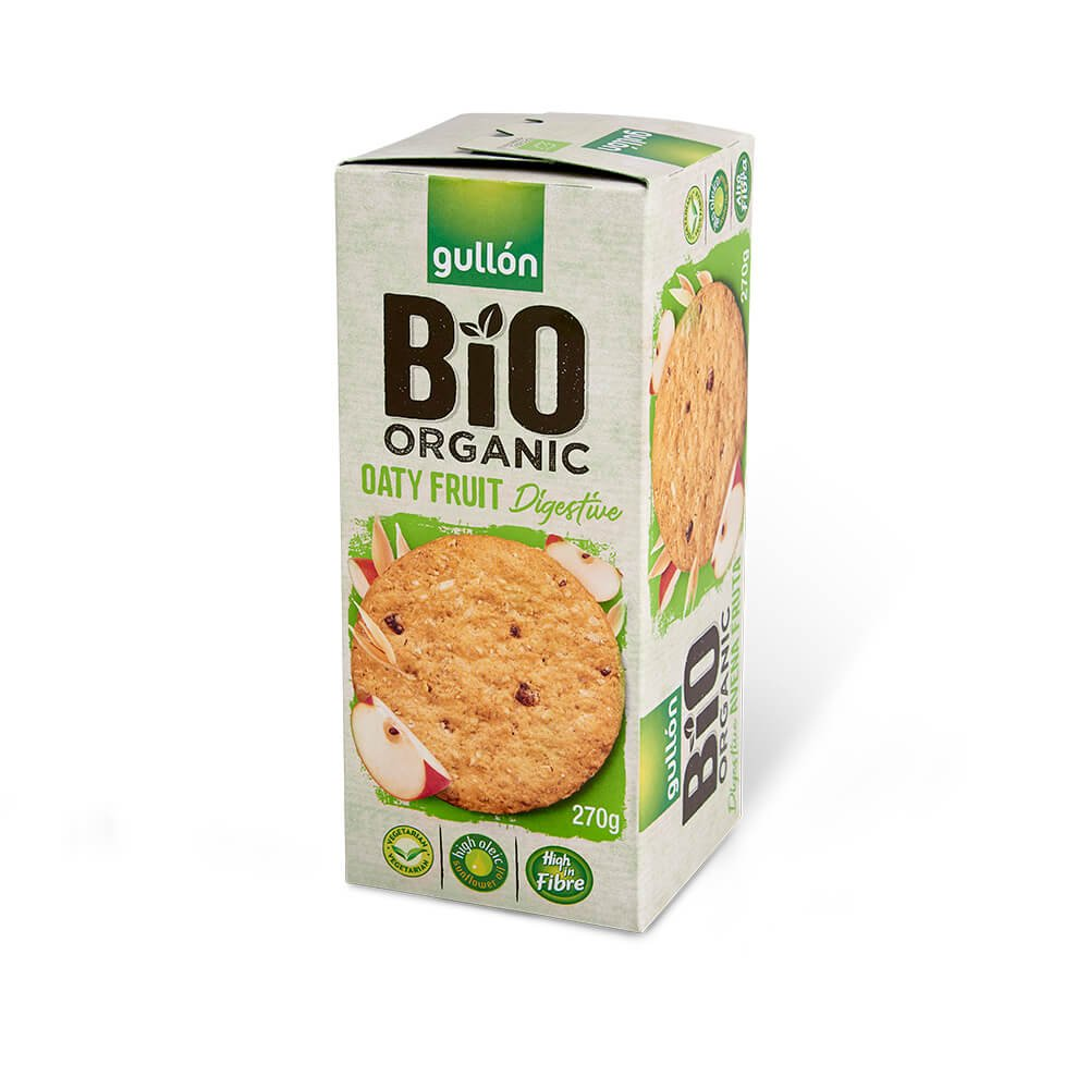 digestive oaty fruit Bio Organic