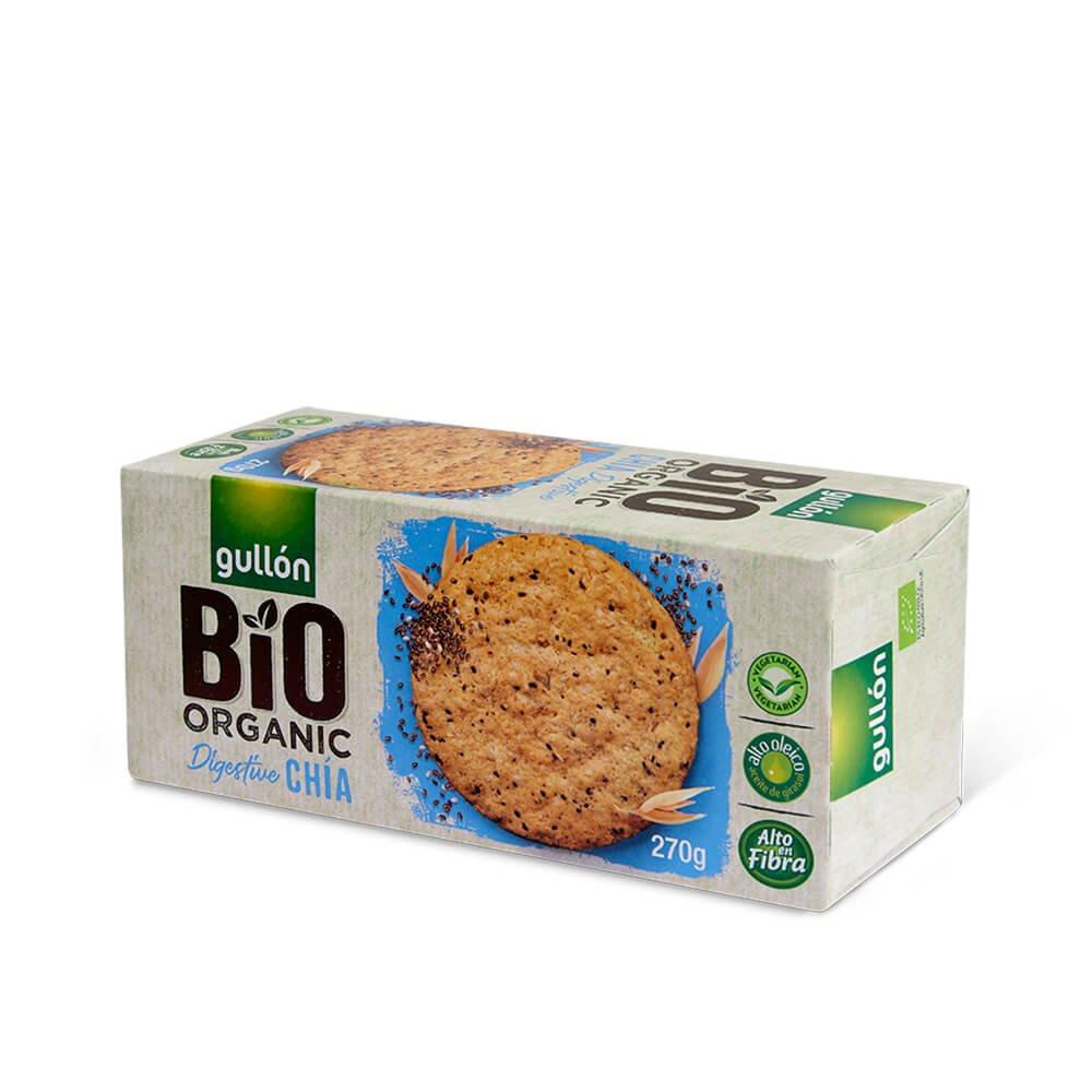 Bio Organic Chia Digestive Gullón