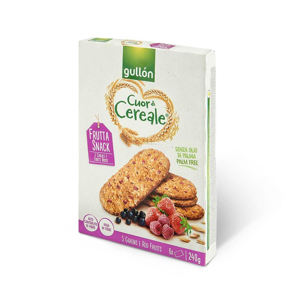 Cuor di cereale Frutta snack Gullón