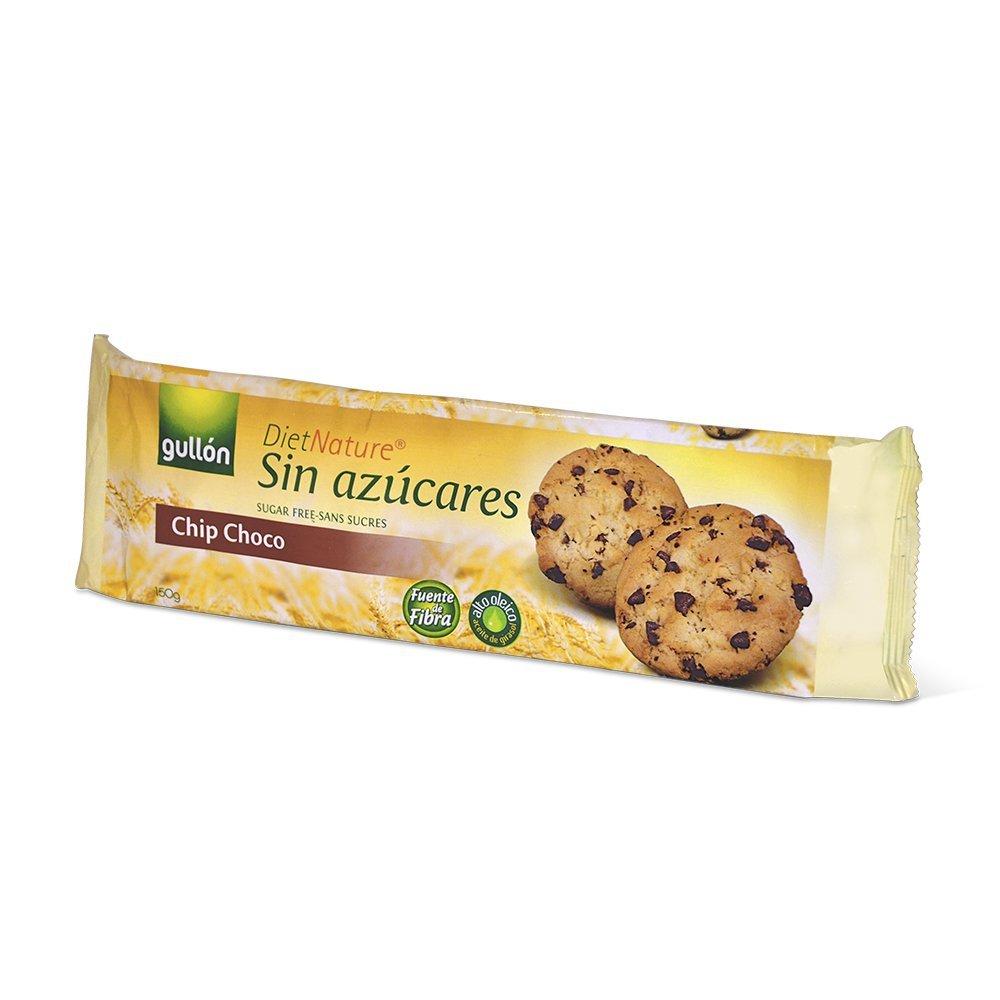 Diet Nature chip choco galletas sin azúcares