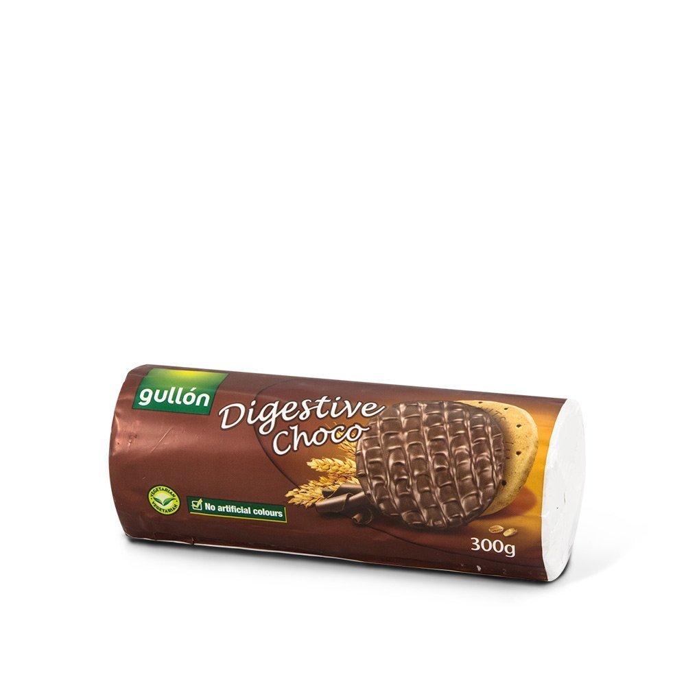 Gullon ислэгээр баялаг digestive шоколадтай жигнэмэг