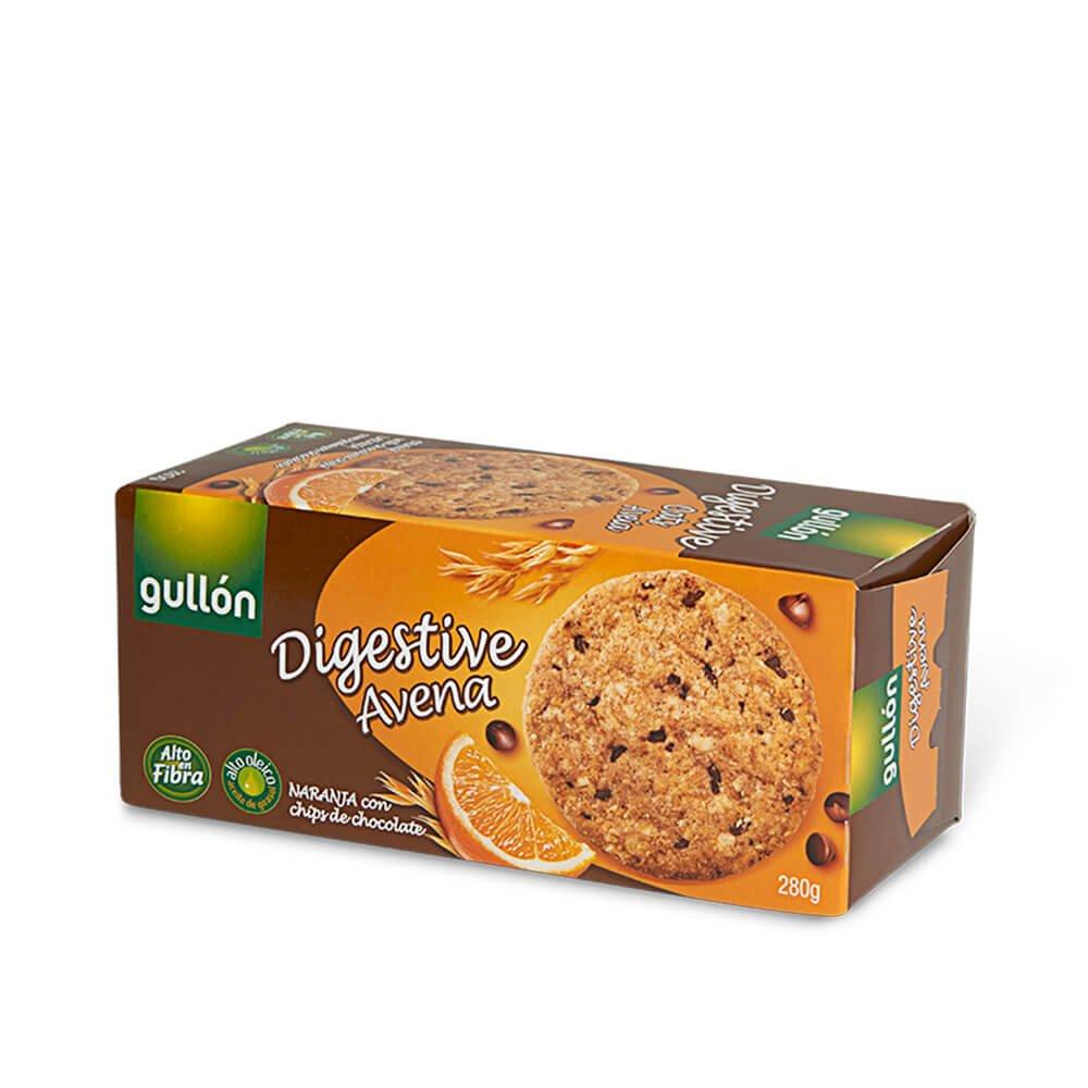 Digestive avena con chips de chocolate Gullon