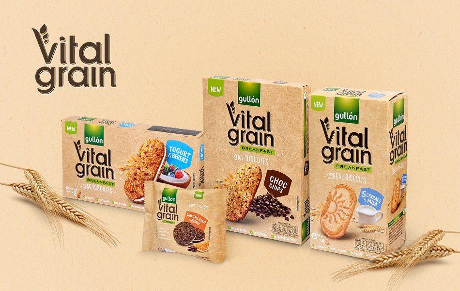 gamma vital grain cookies Gullón