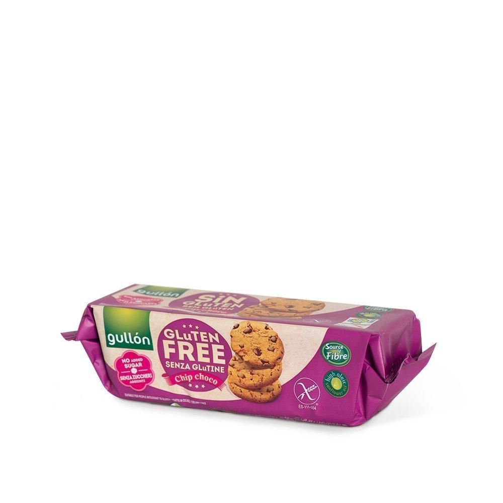Gullon шоко чип глутенгүй нэмэлт сахаргүй жигнэмэг