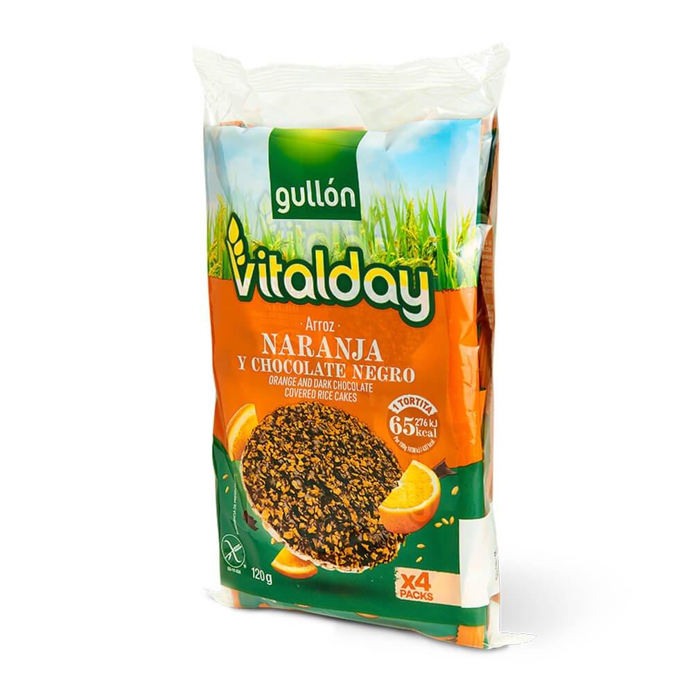 - Tortitas naranja Vitalday pack grande